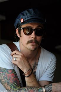 drake mcelroy  motorcycles and a mustache <3