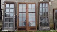 Fenêtres en double vitrage sans huisserie en bois