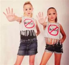 One brave thing that I pledge to do is stand up to bullying.  Whether I am the one getting bullied or observe it going on, I will stand up to the bully, make sure he/she knows that it is wrong, and hope that this person will no longer bully others.  #OneBraveThing #dancemoms  Victoria P.