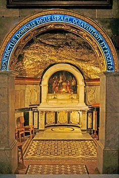 Grotto of the Nativity of St. John the Baptist, Ein Karem