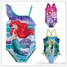 885f0a32f89 2015 Girls Swimsuit Summer Frozen Mermaid Sophia Tinker Bell One Piece  Swimwears Kids Bathing Suits Costume Beachwear Surf Bikini Swim Wears