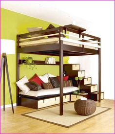 plans for loft bed with stairs | Complete Woodworking Catalogues
