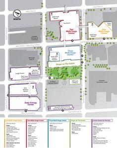 WACHOVIA CENTER MAP