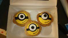 Minion cookies oreo eyes