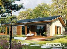 ideas exterior facade house floor plans for 2019 Modern Floor Plans, Modern House Plans, House Floor Plans, Style At Home, Country Style House Plans, Bungalow Haus Design, Modern Bungalow House, Bungalow Exterior, Small House Design