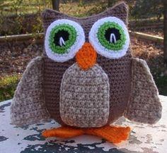 crochet owl by APRILDAWN