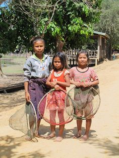 Little fishers along the Mekong River, Laos   FishBio
