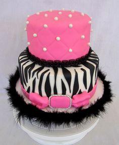 Best zebra birthday cakes | Chickabug