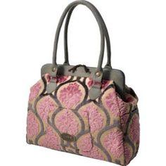 Petunia Pickle Bottom Cake Cosmopolitan Carryall Berry Chiffon, baby 's diaper bag