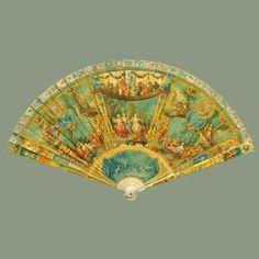 Enligt ryktet har den här solfjädern tillhört Marie Antoinette. Den hamnade i den brittiska drottningen Victorias ägor under 1800-talet. Oavsett om den tillhörde Marie Antoinette eller inte är den otroligt vacker!