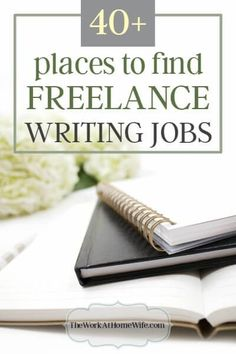 Finding writing jobs from home is one of the biggest challenges of new freelancers. Every freelance writer has to start somewhere. Here's where to start.