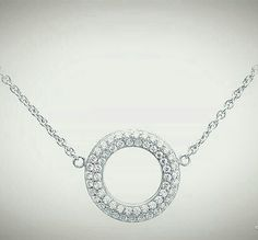 White gold necklace with brilliants from the Matine collection from Helgstrand Denmark