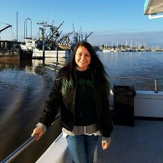 5 layers, whale watching, losing team crewneck = Happy 😂😊🍀❤🐳 #montereybay #pacificocean #whalewatching #beautiful #feliz #saturday #celtics #boston #calilove #montereybaylocals - posted by Lorena Sanchez https://www.instagram.com/la_vida_lorena - See more of Monterey Bay at http://montereybaylocals.com