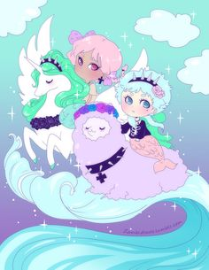 Pastel goth chans by *zambicandy
