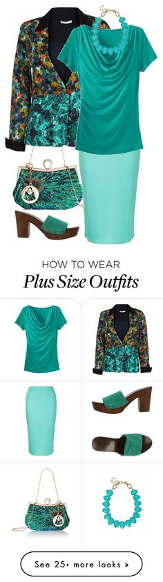 """""""Blue & Green"""" by auntmidnight on Polyvore featuring Lavand., Amalie & Amber, TravelSmith, PrimaDonna and Towne & Reese"""
