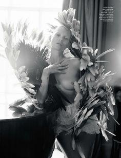 Kate Moss, Love Magazine AW 2012  Photography: Tim Walker    Fashion Editor: Katie Grand   Set Design: Rhea Thierstein