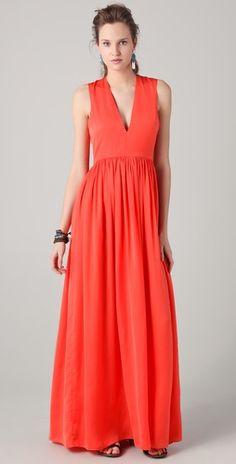 essica Hart for Pencey Standard V Neck Maxi Dress. LOVE the color. so many options for pretty baby shower dresses!!!!!