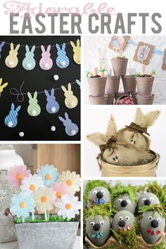 Adorable DIY ideas and crafts for yourself, your kids, and your home this Easter!