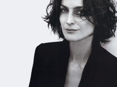 Carrie-Anne Moss by Peter Lindbergh