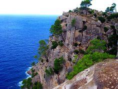 mallorca, sierra tramuntana, coast, sea, blue water