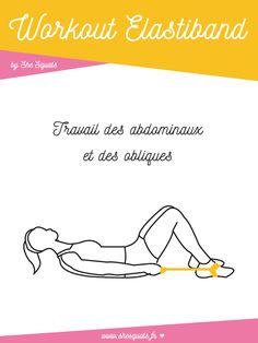 Tonifiez vos abdos à la maison avec un elastiband