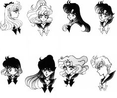 The Sailor Scouts~