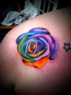 Rose Tattoo (like the color for my elephant :)