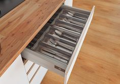 HSC183-50 CUBIERTERO ACERO 201 PARA CAJONES DE 500MM Colonial, Tray, Kitchen, Home, Wood, Houses, Stainless Steel, Furniture, Cooking