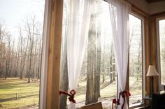 Morning sunshine of a warm spring day streaming in the windows of the cabin Warm Spring, Spring Day, Sunshine, Cabin, Windows, Home Decor, Decoration Home, Room Decor, Cabins