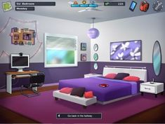 Summertime Saga - PlayGamesOnline Saga, Summertime, Bed, Furniture, Home Decor, Decoration Home, Stream Bed, Room Decor, Home Furnishings