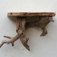 Driftwood shelf, Drift wood  shelves, Driftwood Wall Shelf,Driftwood Cornwall