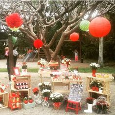 Lindo picnic! By @atelierdanisimoes ❤️☀️❤️ #kikidsparty