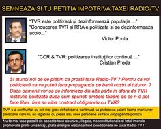 Abuzul vanzarii conditionate taxa radio-tv pe factura de energie