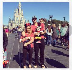 Jessie James Decker & Eric Decker at Disney