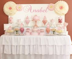 """Invite Me"" Dessert Table Entry by 'Chelle's Lolly Buffets'. Browse to www.inviteme.com.... and click 'FB' link to see all dessert table entries - these are adorable!"