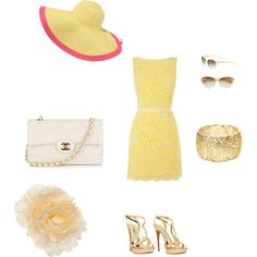Kentucky Derby Outfit, created by babiem101 on Polyvore I would definitily wear this!