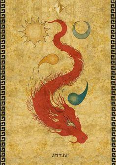 Abra - underground serpent in turkic mythology. servant of Erlik Han, the god of death.