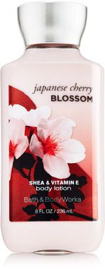 Japanese Cherry Blossom Body Lotion - Signature Collection - Bath & Body Works