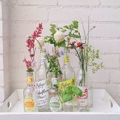 Dusted of my empty bottles, enough flowers in the garden to fill them again Interior House Colors, Happy House, Empty Bottles, Bunch Of Flowers, Colorful Interiors, Indoor Plants, Flower Arrangements, Beautiful Flowers, Glass Vase