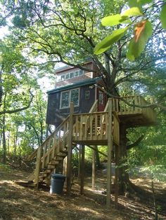 Treehouses at Timber Ridge Outpost & Cabins What a great way to 'camp' in the Shawnee National Forest!