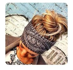 Headband that I could use as earmuffs. I wonder where I can find the pattern.