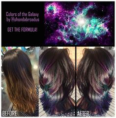 HOW-TO: Dull Ombre to Colors of the Galaxy!