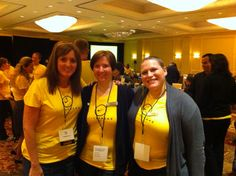 With two truly fabulous and inspiring LIVESTRONG Leaders, Kari and Rica, at the 2012 LIVESTRONG Assembly.