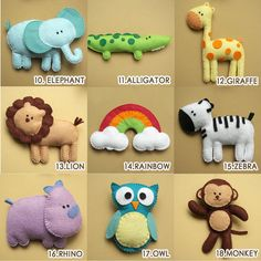 Making your own mobile for your baby - Baby crib mobile, safari mobile, animal mobile, jungle mobile, owl mobile, bird mobile2