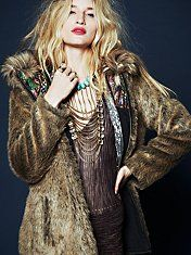 Free People EP ONE Reversible Fur Parka $566.01