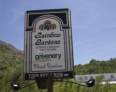 Rainbow Garden - Gift Shop and point of interest.  Ogden Canyon - US-39 Ogden Utah