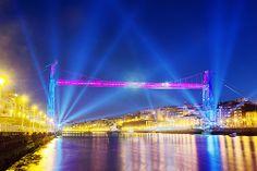 Puente Colgante Patrimonio de la humanidad (Las Arenas-Bizkaia) Spain