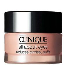 Clinique All About Eyes 15ml A musthave product for all eyes. Reduces puffiness and minimises dark circles and fine lines. Lightweight, creamgel formula actually helps hold eye makeup in place. Apply sparingly with ring finger mo http://www.MightGet.com/january-2017-11/clinique-all-about-eyes-15ml.asp