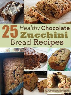 Check out these 25 Healthy Chocolate Zucchini Bread Recipes that are super quick and easy desserts to make for your next family party or holiday celebration.