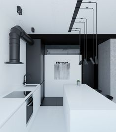 Modern minimalism is loosely defined by paired down design elements, clean lines, and open spaces. But that doesn't mean each space has to be black and white, i
